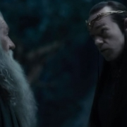 Gandalf y Elrond