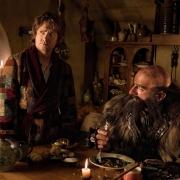 Bilbo y Dwalin en Bolsón Cerrado