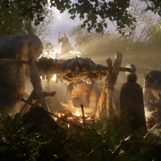 Gandalf, Bilbo y los Trolls