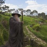 Gandalf en Hobbiton
