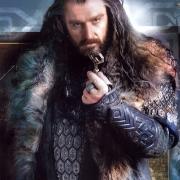Thorin con la llave de Thráin