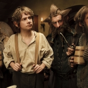 Fili, Bilbo, Nori y Ori en Bolsón Cerrado