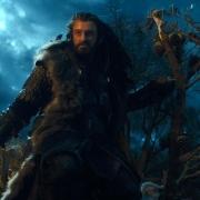 Thorin, en la copa de un árbol