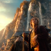 Bilbo, maravillado en Rivendel