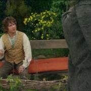 Bilbo y Gandalf