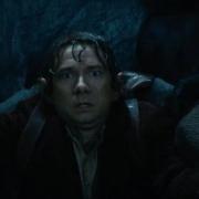 Bilbo y Bofur aterrados