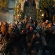 Los Enanos llegan a Rivendel