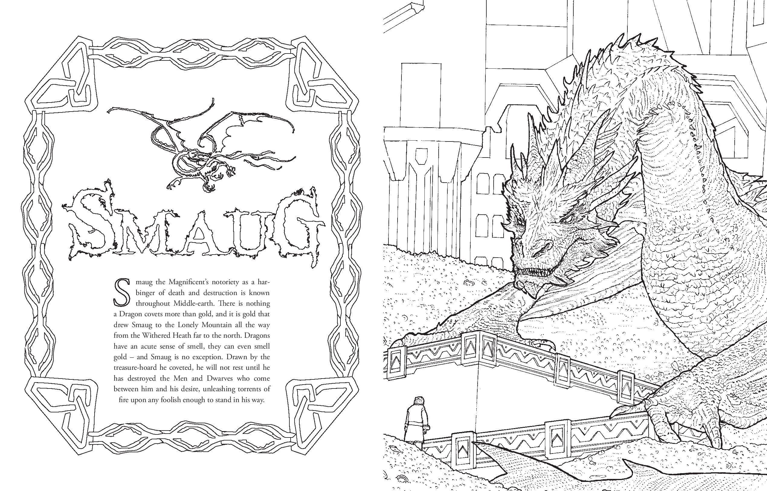 Increíble El Hobbit Para Colorear Colección - Ideas Para Colorear ...