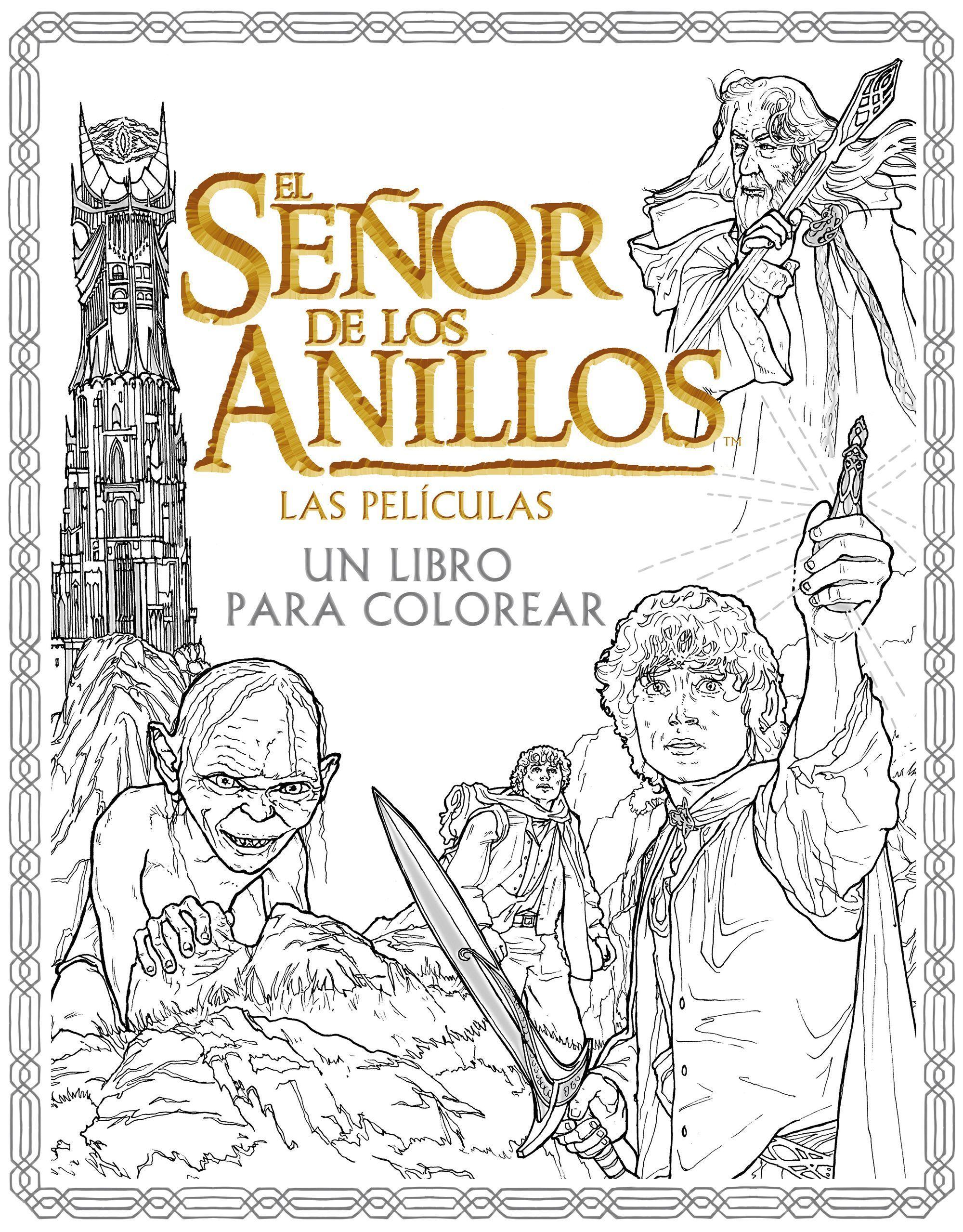 El Señor de los Anillos. Las películas. Un libro para colorear\'   El ...